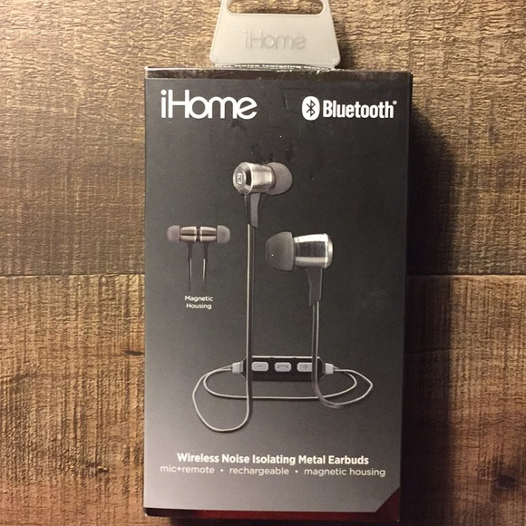 7acf374759d ihome Other | Wireless Noise Isolating Metal Earbuds | Poshmark